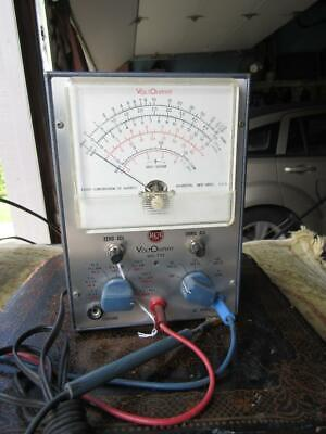 Rca Voltohmyst Test Meter Model Wv-77e Clean Does Powers Up Multimeter