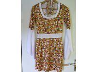 60s / 70s fancy dress size UK 8 - 10