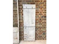 Reclaimed shed door
