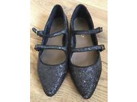 Girls party shoes size 3
