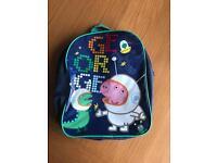 George pig kids rucksack