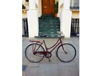 Raleigh Cameo. Beautiful vintage British ladies bike. Excellent working condition.