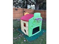 """Little Tikes """"Tikes Town"""" Playhouse well loved by grandchilden"""