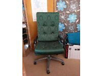 Office Chair - Stunning Green Executive Style