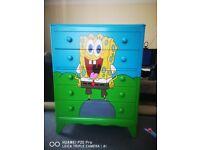 Spongebob chest of drawers