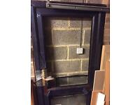 New Brown UPVC Door/Frame