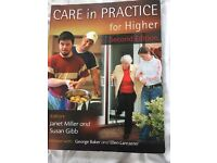 Care in practice for higher - second edition