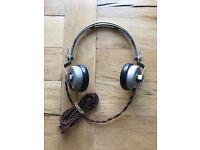 World War 2 / RAF Army Headphones Militaria / military antiques