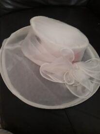 cream ladies hat