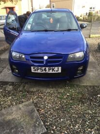 Mg zr new clutch last month,6 months mot,alloys,boar exhaust, CD player,induction kit