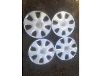 Vauxhall corsa wheel caps