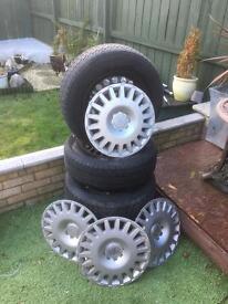 Vauxhall Astra steel wheels