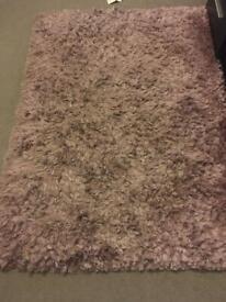 Lilac/dusk rug