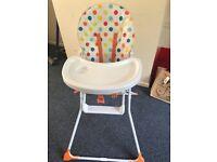 Argos high chair for sale