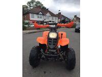 quad 125cc hawkmoto