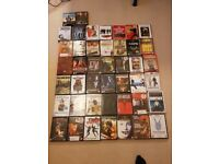 44 critically acclaimed DVD's
