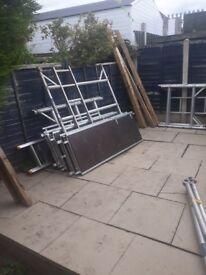 Boss youngman aluminium scaffolding