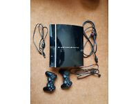 Playstation 3 custom 300Gb plus 17 games