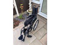 Wheelchair, foldable
