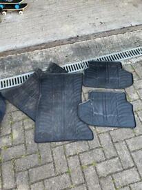 BMW 5 Series (F10) rubber mats