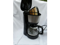 Filter Coffee Maker with washable filter. Electric.