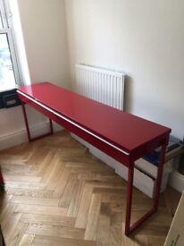IKEA desk (Besta Burs)