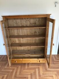 Hand made pine DVD/Book Cabinet