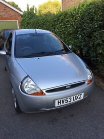 Ford Ka in very good condition, with Long MOT & Taxed -SOLD