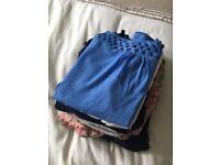 Maternity clothes bundle size 10-14