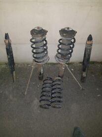 seat leon fr mk2 eibach lowering springs and struts