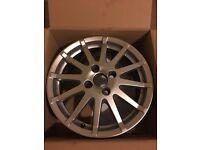 Ford fiesta zetec s alloy wheel