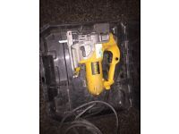 Dewalt 110 jigsaw / Milwaukee 18v tools