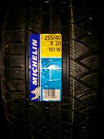 Michelin 255 40 20 tyres NEW