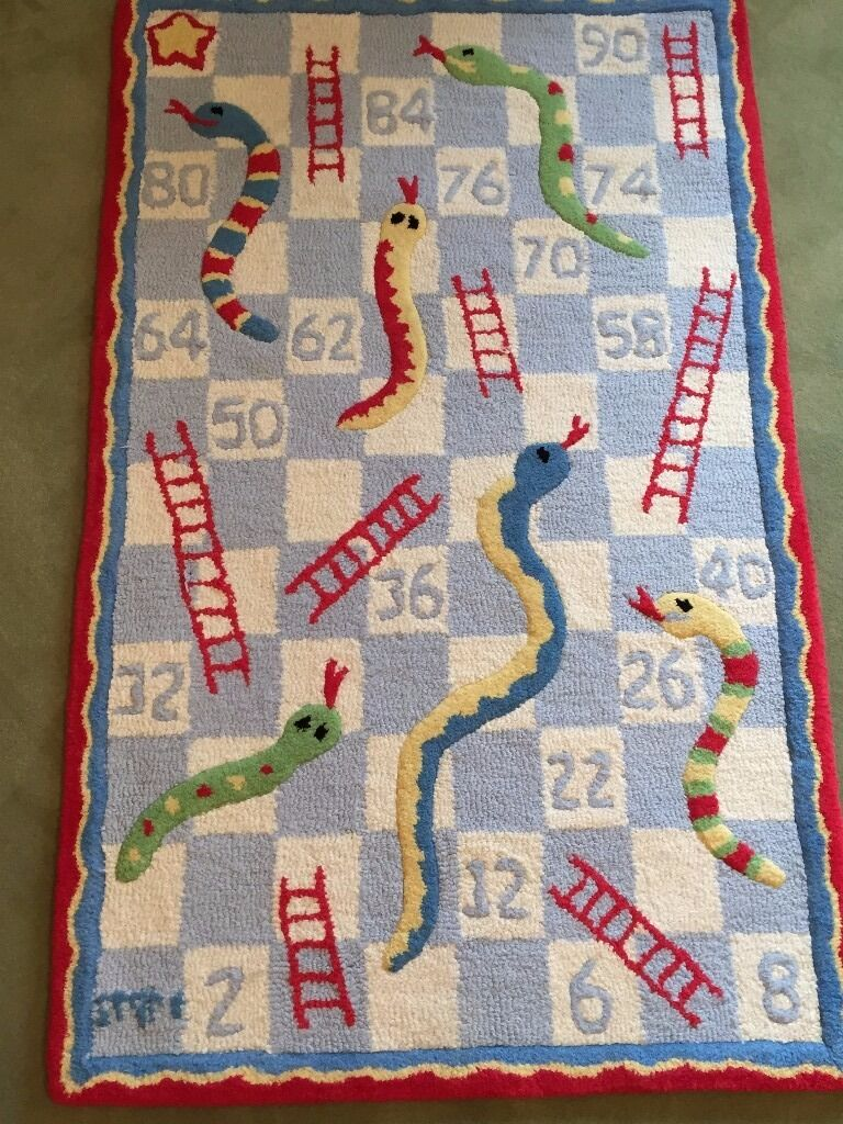 The White Company Children S Snakes And Ladders Rug
