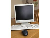 Relisys TL766-RU 17 inch monitor, A Open keyboard and Logitech M100 wired mouse