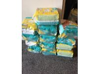 13 packs of size 1 nappies