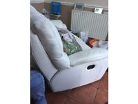 Free 2 seater sofa no delivery no holding must be gone by Wednesday eve