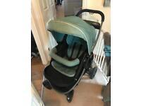 Graco Air pushchair with car seat