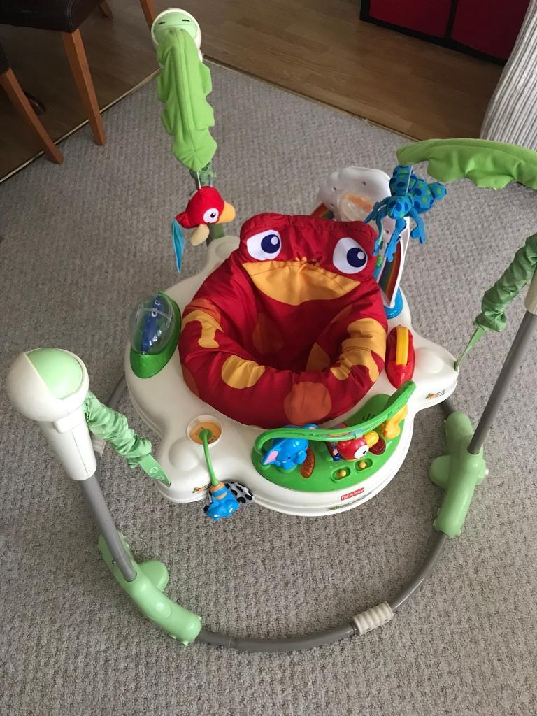 891251ed3 Fisher-Price Rainforest Jumperoo bouncer