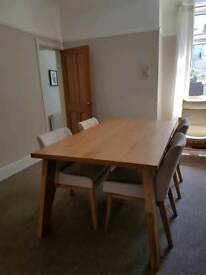 Dining Table and Chairs (unused)