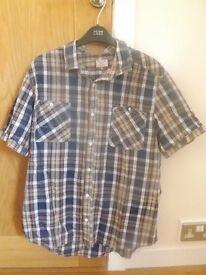 Men's Next Short Sleeve Shirt Size XL
