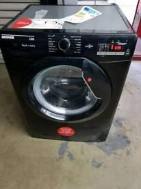 HOOVERDHL 149DB3B NFC 9 kg 1400 Spin Washing Machine - Black *exdisplay*