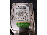 "Hard Drive for desktop:Western Digital 320GB SATA II 3Gbps 8MB Cache 3.5"" Internal"