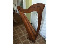 Border lever Harp for sale