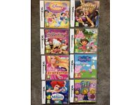 Nintendo DS incl 8 games & accessories