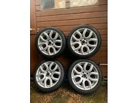 Mini Winter Wheels - Flame spoke alloys/Bridgstone winter tyres, 17in