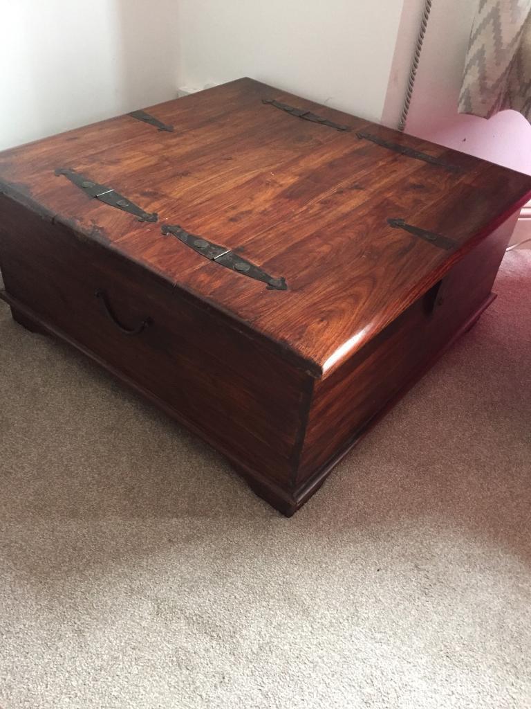 Dark wood trunk