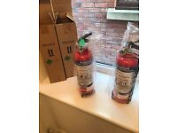 Fire extinguishers times 2 brand-new