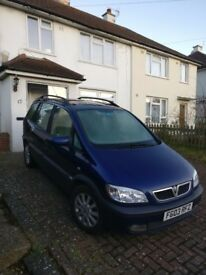Very clean Vauxhall Zafira 2DTI for sale