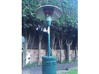 Large Gas Patio Heater with Light